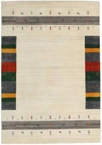 Loribaf ルーム Designer - ベージュ 絨毯 160X230 モダン ベージュ/暗めのベージュ色の (ウール, インド)