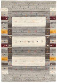 Loribaf ルーム Designer 絨毯 120X180 モダン 薄い灰色/ベージュ (ウール, インド)