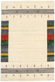 Loribaf ルーム Designer - ベージュ 絨毯 120X180 モダン ベージュ/暗めのベージュ色の (ウール, インド)