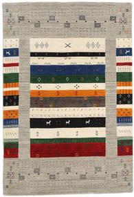 Loribaf ルーム Designer - グレー/Multi 絨毯 120X180 モダン 薄い灰色/ベージュ (ウール, インド)