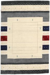 Loribaf ルーム Designer 絨毯 120X180 モダン ベージュ/濃いグレー (ウール, インド)