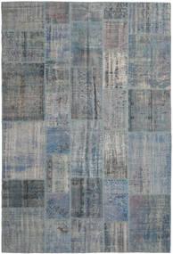 パッチワーク 絨毯 203X306 モダン 手織り 濃いグレー/薄い灰色 (ウール, トルコ)