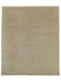 ハンドルーム Fringes - Greige 絨毯 250X300 モダン 薄い灰色 大きな (ウール, インド)