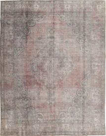 カラード ヴィンテージ 絨毯 290X374 モダン 手織り 薄い灰色/濃いグレー 大きな (ウール, パキスタン)