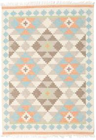 Summer キリム 絨毯 160X230 モダン 手織り ベージュ/暗めのベージュ色の (ウール, インド)