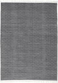 Diamond ウール - 黒 絨毯 160X230 モダン 手織り 濃いグレー/薄い灰色 (ウール, インド)