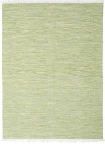 Diamond ウール - グリーン 絨毯 210X290 モダン 手織り ライトグリーン (ウール, インド)