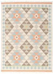 Summer キリム 絨毯 210X290 モダン 手織り ベージュ/薄い灰色 (ウール, インド)