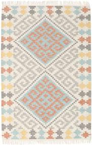 Summer キリム 絨毯 120X180 モダン 手織り ベージュ/薄い灰色 (ウール, インド)