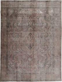 カラード ヴィンテージ 絨毯 294X384 モダン 手織り 濃いグレー/濃い茶色 大きな (ウール, パキスタン)