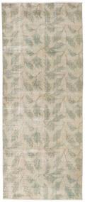 カラード ヴィンテージ 絨毯 92X226 モダン 手織り 廊下 カーペット 薄い灰色/暗めのベージュ色の (ウール, トルコ)