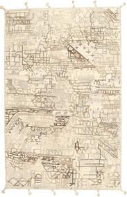Handtufted 絨毯 158X248 モダン ベージュ/薄い灰色 (ウール, インド)