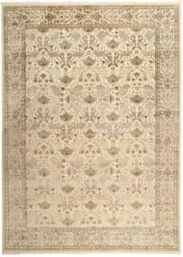 タブリーズ Royal 絨毯 301X420 オリエンタル 手織り ベージュ/薄茶色/暗めのベージュ色の 大きな ( インド)