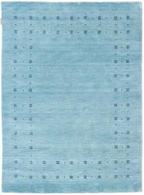 Loribaf ルーム Delta - 水色 絨毯 140X200 モダン 水色 (ウール, インド)