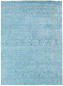 Loribaf ルーム Eta - 水色 絨毯 190X290 モダン 水色 (ウール, インド)