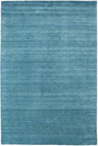 Loribaf ルーム Beta - 水色 絨毯 190X290 モダン 青/ターコイズブルー (ウール, インド)