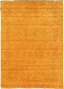 Loribaf ルーム Beta - ゴールド 絨毯 140X200 モダン 黄色/薄茶色 (ウール, インド)