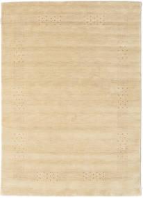 Loribaf ルーム Beta - ベージュ 絨毯 140X200 モダン ベージュ/薄茶色 (ウール, インド)