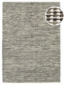 Big Drop - 黒/グレー Mix 絨毯 210X290 モダン 手織り 薄い灰色/濃いグレー/ベージュ (ウール, インド)