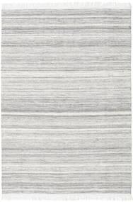 Diamond ウール - グレー 絨毯 160X230 モダン 手織り 薄い灰色/ホワイト/クリーム色 (ウール, インド)