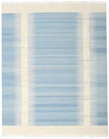 Ikat - 薄い 青 絨毯 190X240 モダン 手織り 水色/ベージュ (ウール, インド)