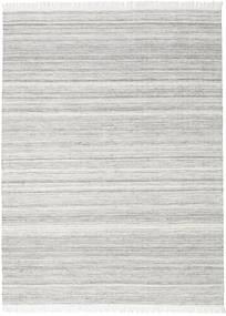 Diamond ウール - グレー 絨毯 210X290 モダン 手織り 薄い灰色 (ウール, インド)