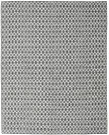 キリム Long Stitch - 黒/グレー 絨毯 240X300 モダン 手織り 薄い灰色/ターコイズブルー (ウール, インド)