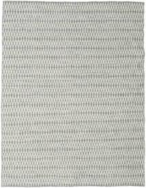 キリム Long Stitch - グレー 絨毯 190X240 モダン 手織り 薄い灰色/ベージュ (ウール, インド)