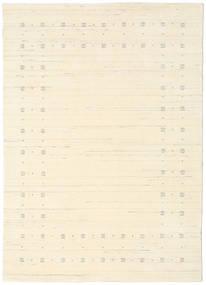 Loribaf ルーム Delta - ナチュラル 絨毯 140X200 モダン ベージュ/ホワイト/クリーム色 (ウール, インド)