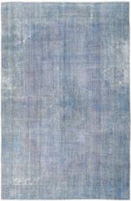 カラード ヴィンテージ 絨毯 204X312 モダン 手織り 水色/薄紫色 (ウール, トルコ)
