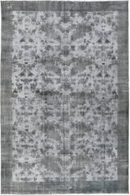 カラード ヴィンテージ 絨毯 198X300 モダン 手織り 水色/薄い灰色/青 (ウール, トルコ)