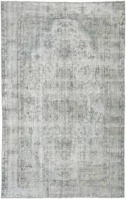 カラード ヴィンテージ 絨毯 165X265 モダン 手織り 薄い灰色/ターコイズブルー (ウール, トルコ)