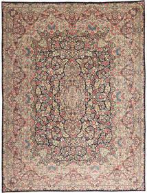 ケルマン 絨毯 290X387 オリエンタル 手織り 薄い灰色/濃い茶色 大きな (ウール, ペルシャ/イラン)
