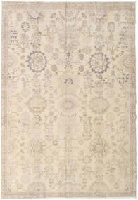 カラード ヴィンテージ 絨毯 186X270 モダン 手織り ベージュ/薄い灰色 (ウール, トルコ)