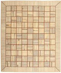 キリム パッチワーク 絨毯 214X253 モダン 手織り ベージュ/暗めのベージュ色の (ウール, ペルシャ/イラン)