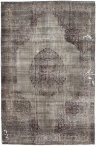 カラード ヴィンテージ 絨毯 200X295 モダン 手織り 濃いグレー/薄い灰色 (ウール, パキスタン)