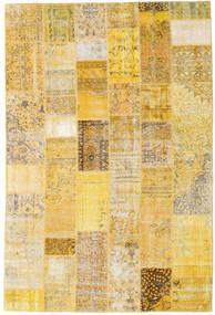 パッチワーク 絨毯 200X300 モダン 手織り 暗めのベージュ色の/黄色 (ウール, トルコ)
