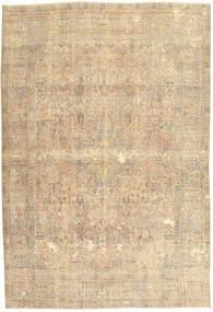 カラード ヴィンテージ 絨毯 198X292 モダン 手織り ベージュ/暗めのベージュ色の/薄茶色 (ウール, ペルシャ/イラン)