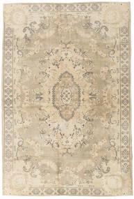 カラード ヴィンテージ 絨毯 203X304 モダン 手織り ベージュ/薄い灰色 (ウール, トルコ)