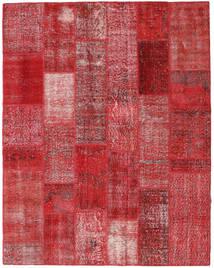 パッチワーク 絨毯 203X260 モダン 手織り 赤/深紅色の (ウール, トルコ)