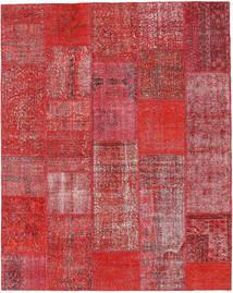 パッチワーク 絨毯 202X255 モダン 手織り 錆色/深紅色の (ウール, トルコ)