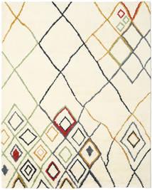 Berber インド - Off-白/Multi 絨毯 240X300 モダン 手織り ベージュ/ホワイト/クリーム色 (ウール, インド)