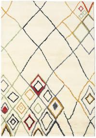 Berber インド - Off-白/Multi 絨毯 160X230 モダン 手織り ベージュ/ホワイト/クリーム色 (ウール, インド)
