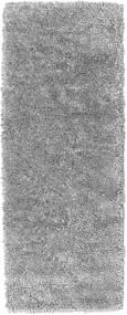 Stick Saggi - グレー 絨毯 80X200 モダン 手織り 廊下 カーペット 濃い茶色/薄い灰色 (ウール, インド)