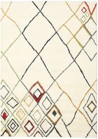 Berber インド - Off-白/Multi 絨毯 210X290 モダン 手織り ベージュ/ホワイト/クリーム色 (ウール, インド)