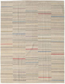 キリム モダン 絨毯 186X239 モダン 手織り 薄い灰色 (ウール, ペルシャ/イラン)