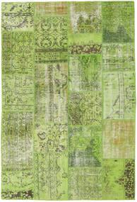 パッチワーク 絨毯 161X238 モダン 手織り ライトグリーン/オリーブ色 (ウール, トルコ)