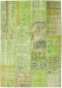 パッチワーク 絨毯 161X233 モダン 手織り ライトグリーン (ウール, トルコ)