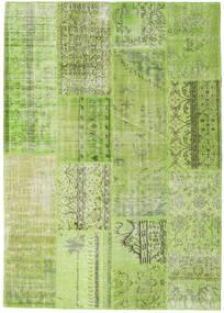 パッチワーク 絨毯 216X229 モダン 手織り ライトグリーン/オリーブ色 (ウール, トルコ)