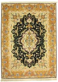 タブリーズ 70Raj Silke Varp 絨毯 152X205 オリエンタル 手織り (ウール/絹, ペルシャ/イラン)